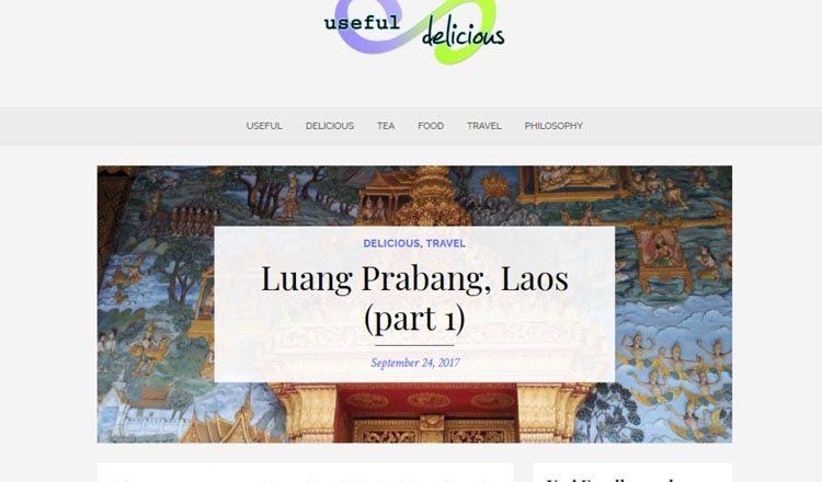 useful-delicious website screenshot