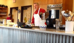 Chef Allen Smith at the Santa Fe Cooking School