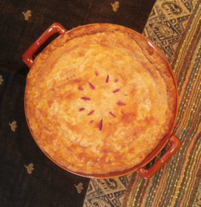 A beautiful pie