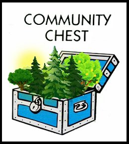 forest treasure in community chest