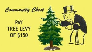 Monopoly Community Chest card for Tree levy
