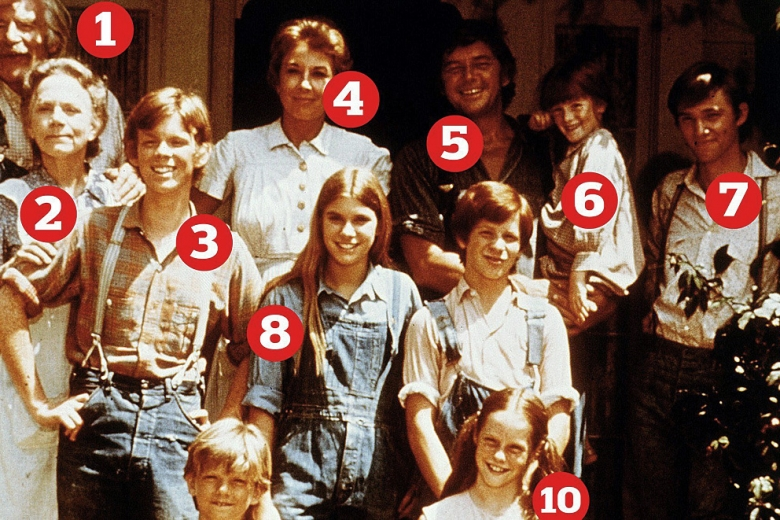 The Waltons cast, numbered