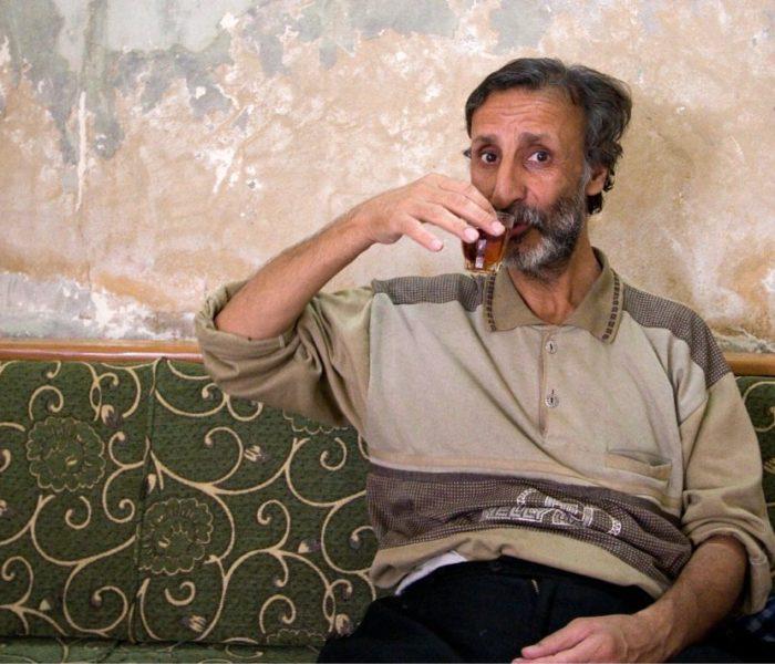 Drinking tea in Aleppo, Syria; image by James Gordon